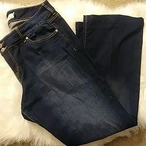 Size 18 Torrid dark wash flare jeans